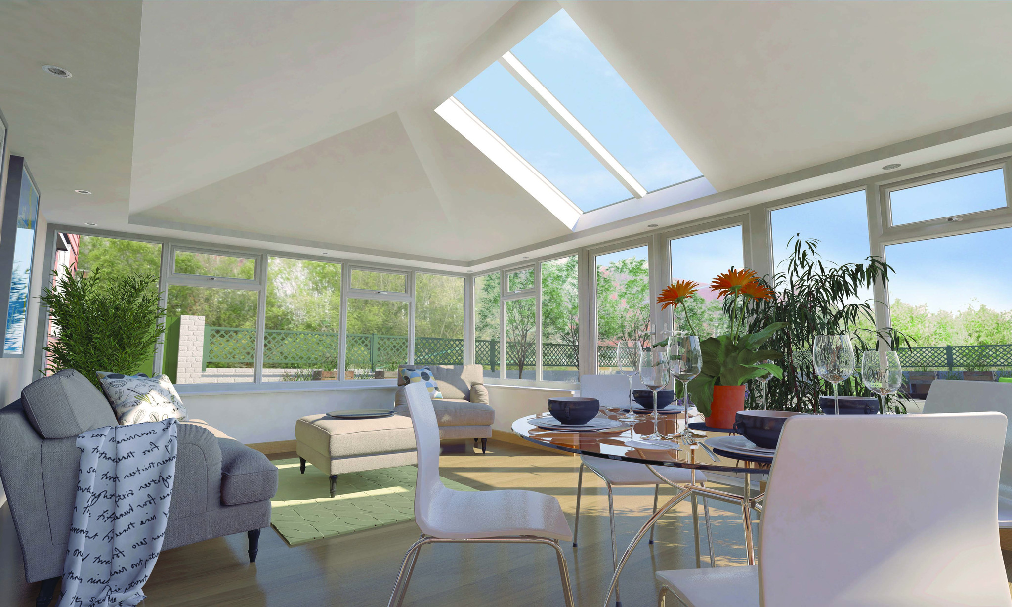 Tiled Conservatory Roofs East Anglia